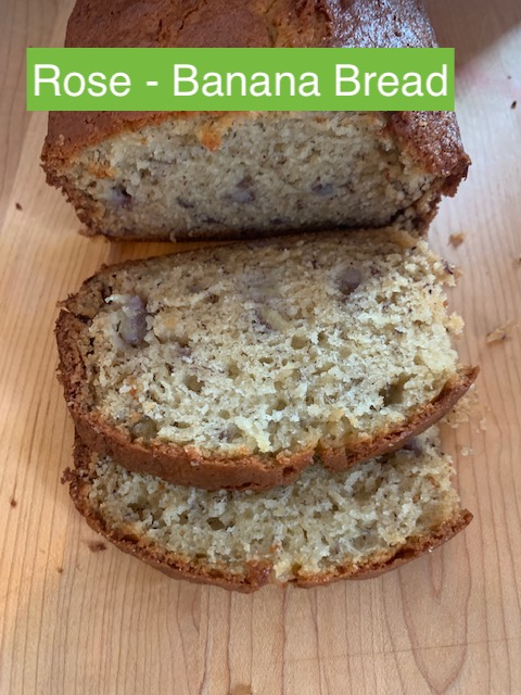 Rose | Banana Bread