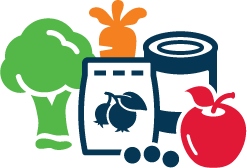 assorted foods icon