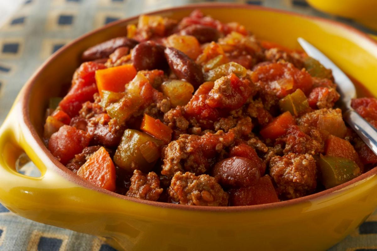 Turkey Chili with Vegetables