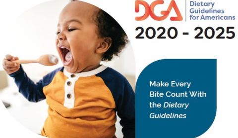 Dietary guidelines cover photo